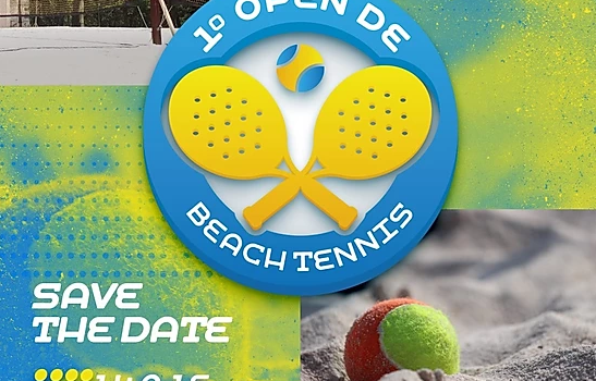 Primeiro Open de Beach Tennis