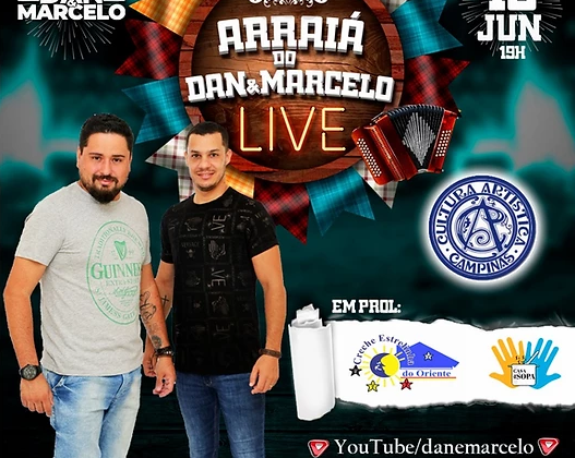 Arraiá do Dan & Marcelo – LIVE 19/06